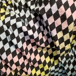 Hot Topic Dresses - Hot topic plus size pastel checkered dress